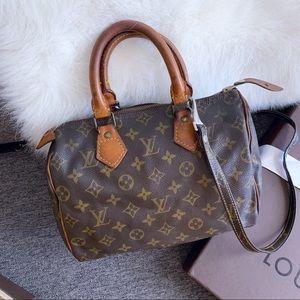 Louis Vuitton authentic small speedy